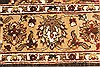 Jaipur Brown Hand Knotted 50 X 70  Area Rug 250-28252 Thumb 3