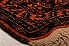 Baluch Orange Hand Knotted 32 X 410  Area Rug 253-28264 Thumb 1