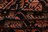 Baluch Orange Hand Knotted 210 X 411  Area Rug 253-28269 Thumb 3