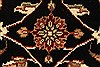 Jaipur Black Hand Knotted 50 X 70  Area Rug 250-28281 Thumb 10