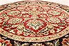 Jaipur Red Round Hand Knotted 60 X 60  Area Rug 250-28295 Thumb 2
