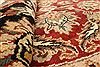 Jaipur Red Round Hand Knotted 60 X 60  Area Rug 250-28295 Thumb 4
