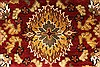 Jaipur Red Round Hand Knotted 60 X 60  Area Rug 250-28296 Thumb 1