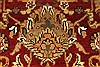 Jaipur Red Round Hand Knotted 60 X 60  Area Rug 250-28296 Thumb 2