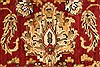 Jaipur Red Round Hand Knotted 60 X 60  Area Rug 250-28296 Thumb 3