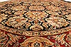 Jaipur Black Round Hand Knotted 70 X 70  Area Rug 250-28298 Thumb 3