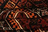 Baluch Red Hand Knotted 29 X 47  Area Rug 253-28300 Thumb 3