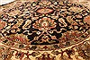 Jaipur Black Round Hand Knotted 60 X 60  Area Rug 250-28306 Thumb 2