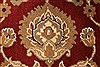 Jaipur Red Round Hand Knotted 59 X 59  Area Rug 250-28307 Thumb 5