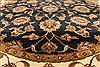 Jaipur Black Round Hand Knotted 60 X 60  Area Rug 250-28309 Thumb 2