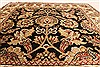 Jaipur Black Square Hand Knotted 30 X 30  Area Rug 250-28318 Thumb 2