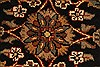 Jaipur Black Round Hand Knotted 30 X 30  Area Rug 250-28323 Thumb 1