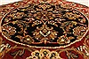 Jaipur Black Round Hand Knotted 30 X 30  Area Rug 250-28323 Thumb 3