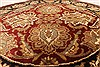 Jaipur Red Round Hand Knotted 40 X 40  Area Rug 250-28325 Thumb 4