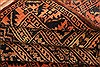 Baluch Orange Hand Knotted 210 X 42  Area Rug 253-28328 Thumb 3