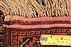 Baluch Orange Hand Knotted 210 X 42  Area Rug 253-28328 Thumb 4