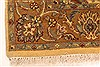 Jaipur Yellow Square Hand Knotted 40 X 40  Area Rug 250-28331 Thumb 11