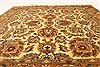 Jaipur Yellow Square Hand Knotted 40 X 40  Area Rug 250-28331 Thumb 3