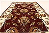 Jaipur Red Hand Knotted 20 X 30  Area Rug 250-28336 Thumb 4