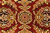 Jaipur Red Square Hand Knotted 40 X 40  Area Rug 250-28339 Thumb 1