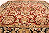Jaipur Red Square Hand Knotted 40 X 40  Area Rug 250-28339 Thumb 3