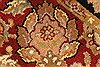 Jaipur Red Square Hand Knotted 40 X 40  Area Rug 250-28339 Thumb 7