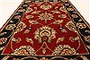 Jaipur Red Hand Knotted 20 X 30  Area Rug 250-28340 Thumb 3