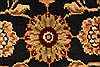 Jaipur Black Hand Knotted 20 X 30  Area Rug 250-28345 Thumb 1