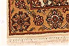 Isfahan Beige Hand Knotted 30 X 50  Area Rug 250-28351 Thumb 10
