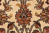 Isfahan Beige Hand Knotted 30 X 50  Area Rug 250-28351 Thumb 1