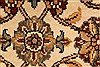 Isfahan Beige Hand Knotted 30 X 50  Area Rug 250-28351 Thumb 8