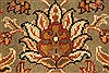 Jaipur Green Hand Knotted 30 X 50  Area Rug 250-28354 Thumb 8