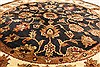 Jaipur Black Round Hand Knotted 40 X 40  Area Rug 250-28358 Thumb 2