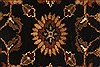 Jaipur Black Round Hand Knotted 40 X 40  Area Rug 250-28358 Thumb 9