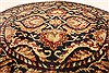 Jaipur Black Round Hand Knotted 40 X 40  Area Rug 250-28359 Thumb 1