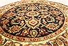 Jaipur Black Round Hand Knotted 310 X 310  Area Rug 250-28360 Thumb 2