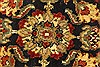 Jaipur Black Round Hand Knotted 310 X 310  Area Rug 250-28360 Thumb 8