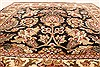 Jaipur Black Square Hand Knotted 30 X 30  Area Rug 250-28361 Thumb 2