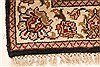 Jaipur Black Square Hand Knotted 30 X 30  Area Rug 250-28361 Thumb 8