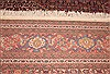 Tabriz Red Hand Knotted 94 X 1210  Area Rug 400-28363 Thumb 7