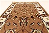 Jaipur Brown Hand Knotted 20 X 30  Area Rug 250-28366 Thumb 4