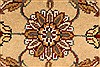 Jaipur Beige Hand Knotted 20 X 30  Area Rug 250-28368 Thumb 1