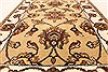 Jaipur Beige Hand Knotted 20 X 30  Area Rug 250-28368 Thumb 3