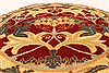 Jaipur Red Round Hand Knotted 30 X 30  Area Rug 250-28376 Thumb 3