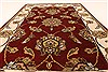 Jaipur Red Hand Knotted 20 X 30  Area Rug 250-28378 Thumb 4