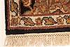 Jaipur Black Hand Knotted 20 X 30  Area Rug 250-28379 Thumb 9