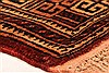 Baluch Brown Hand Knotted 211 X 49  Area Rug 253-28383 Thumb 5