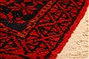 Baluch Red Hand Knotted 30 X 47  Area Rug 253-28405 Thumb 5
