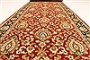 Jaipur Red Runner Hand Knotted 40 X 139  Area Rug 250-28416 Thumb 5