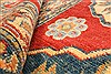 Kazak Red Runner Hand Knotted 410 X 153  Area Rug 250-28418 Thumb 10
